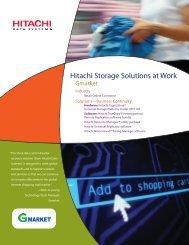 Hitachi Storage Solutions at Work for Gmarket - Hitachi Data Systems