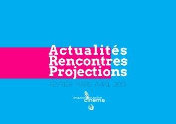 Programmations - Languedoc Roussillon Cinéma