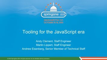 Tooling for the JavaScript era - Martin Lippert