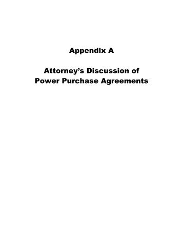 Sample Power Purchase Agreement   Southwest Initiative Foundation
