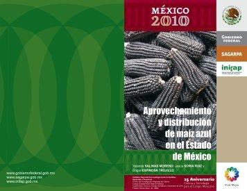 Aprovechamiento y distribución de maíz azul en el Estado de México