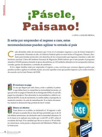 Paisano! - Condusef