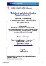 Dnevni red - Ministarstvo socijalne politike i mladih