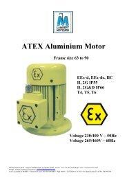 ATEX Aluminium Motor - LAMBERT MOTEURS
