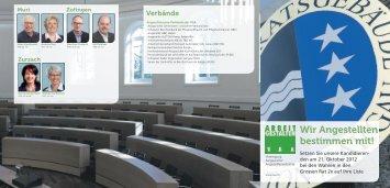Regierungsrats- und Grossratswahlen - Angestellte Alstom Power