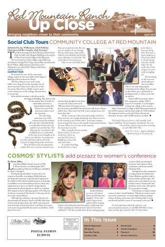 April 2011 - Up Close Publications