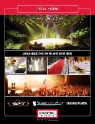 Download Info Sheet - Live Nation Special Events
