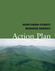 Northern Forest Biomass Energy Initiative