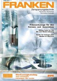 FRANKEN Formenbau-kataloge 226 - Riwag Präzisionswerkzeuge ...