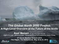 The Global North 2050 Project: - Axc.Nl