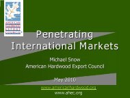 Penetrating Global Markets - Northern Forest Center