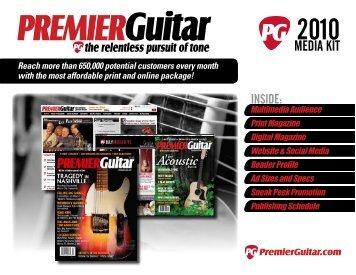 Media Kit - Premier Guitar