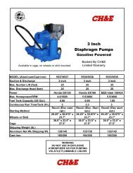 3 Inch Diaphragm Pumps - BBC Pump and Equipment