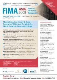 IQPC-WBR FIMA Asia 10.2 - Asian Bankers Association