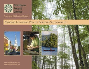 Low-Res: 800 kb - Northern Forest Center