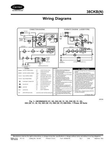 wiring diagrams carrier 38ckb n wiring diagrams carrier