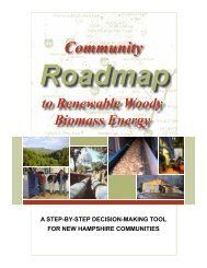 Community Roadmap to Renewable Woody Biomass ... - Nhrcd.net