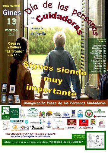 cartelyprogramacuidadores2013 - Diputación de Sevilla