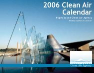 2006 Clean Air Calendar - Puget Sound Clean Air Agency