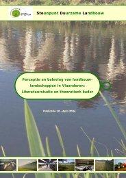 Perceptie en beleving van landbouwlandschappen ... - Meetjesland.be
