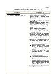 Prilog 3 - Popis dokumentacije koja se dostavllja uz