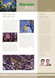 Boymann Brief 01/2005
