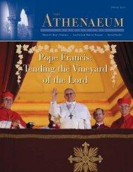 Pope Francis - The Athenaeum Of Ohio