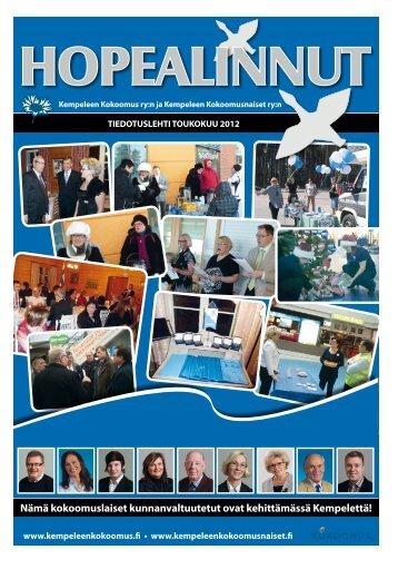 Hopealinnut toukokuu 2012.pdf - Pudasjärvi-lehti ja VKK-Media Oy