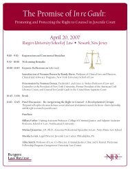 gault agenda.ai - National Juvenile Defender Center