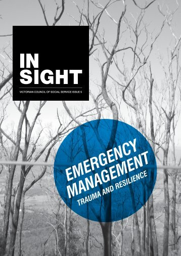 EMERGENCY MANAGEMENT - Victorian Council of Social Service