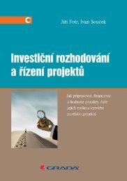 Investiční rozhodování a řízení projektů - eReading
