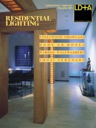 RESIDENTIAL LIGHTING - Illuminating Engineering Society