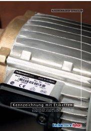 Kennzeichnung mit Etiketten - HellermannTyton