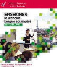 La brochure formations 2012
