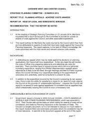Adverse Costs Award Report 12 3 14 2