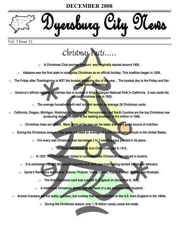 Vol 3 Issue 12 December 2008 - City of Dyersburg