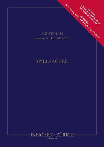 Conditions of Sale - Auktionshaus Ineichen, Zürich