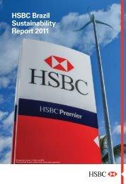 HSBC Brazil Sustainability Report 2011