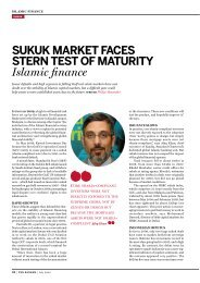 sukuk market faces stern test of maturity Islamic ... - John A. Sandwick