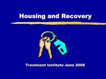 Housing and Recovery - CASAT
