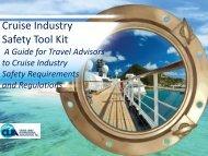 Cruise Industry Safety Tool Kit - Cruise Lines International Association