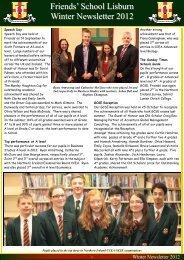 Winter Newsletter 2012.pub - Friends' School Lisburn