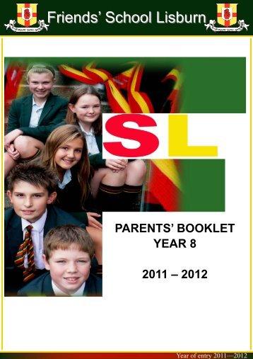 Year 8 Parents - Friends' School Lisburn