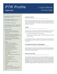 Link to Compendium Profile - Office of Community College ...