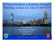 Current Problems in Radiation Therapy Shielding: Is there Life After ...