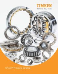 Timken® Products Catalog - Gaes