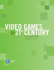 Video Games in the 21st Century: The 2010 Report