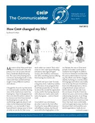 Communicaider Fall 2012 - Communicaid for Hearing Impaired ...
