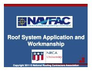 Roof System Application and Roof System Application and ...