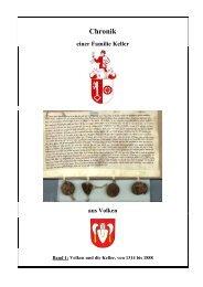 Volken und die Keller, von 1314 bis 1888 - Gemeinde Volken